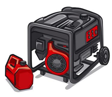 Kraftstoff Stromerzeuger Benzin Diesel Gas