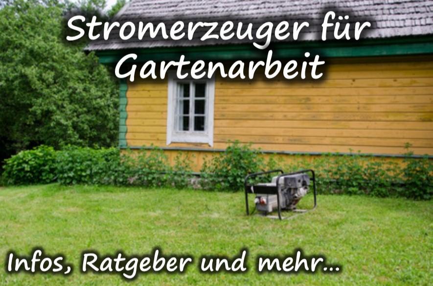 Stromerzeuger für Gartenarbeit kaufen